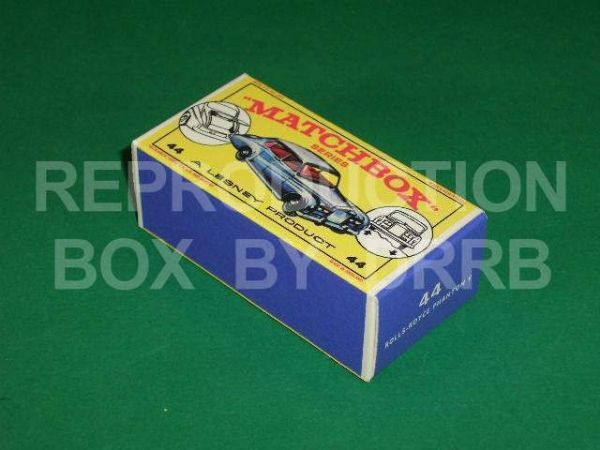 Matchbox 1-75 #44 Rolls-Royce Phantom V - Reproduction Box